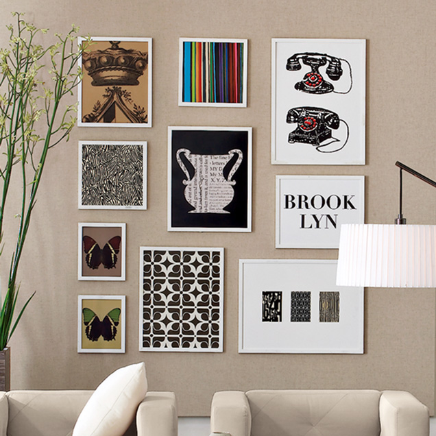 Now, Gallery Walls Made Easy — DESIGN SCOUTING