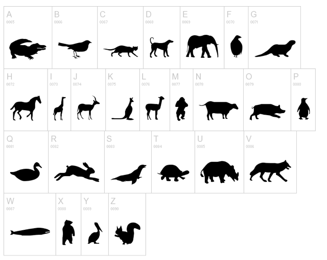 Fancy free sunshine animal prints for Free shadow puppet templates